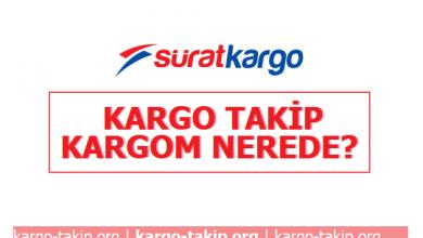 Photo of Sürat Kargo Takip, Kargom Nerede?