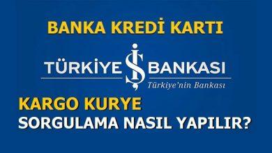 Photo of İş Bankası Bankamatik ve Kredi Kartı Kurye Takip