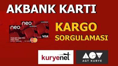 Photo of Akbank Kartım Nerede? (Kurye Takip)