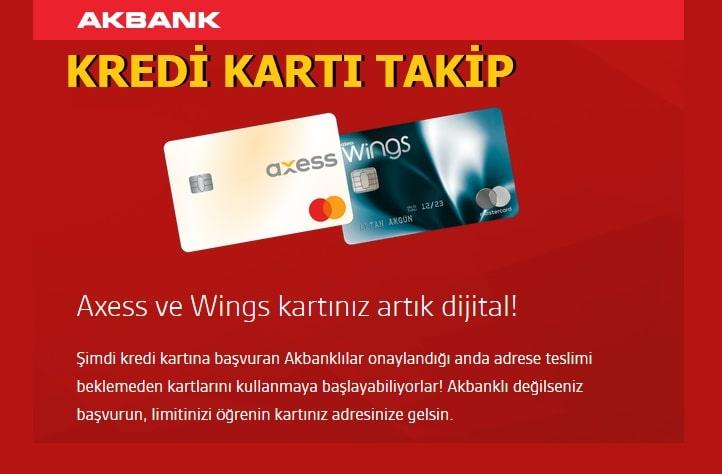 Akbank Kredi Kartı Kurye Takip