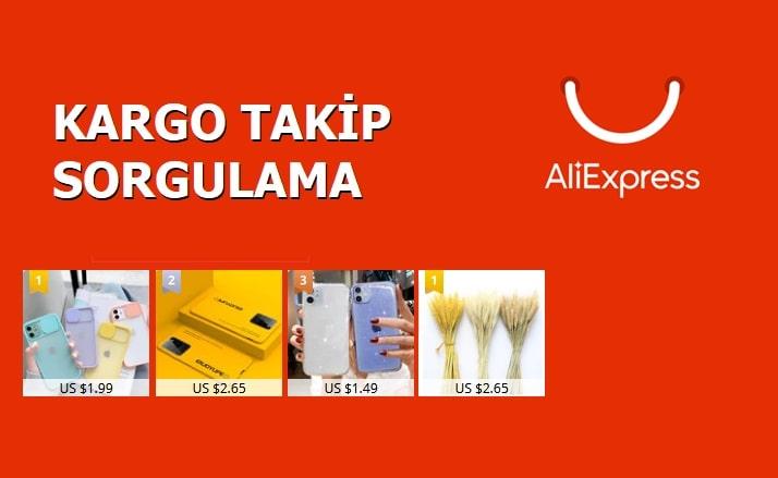 Aliexpress Kargo Takip İşlemleri