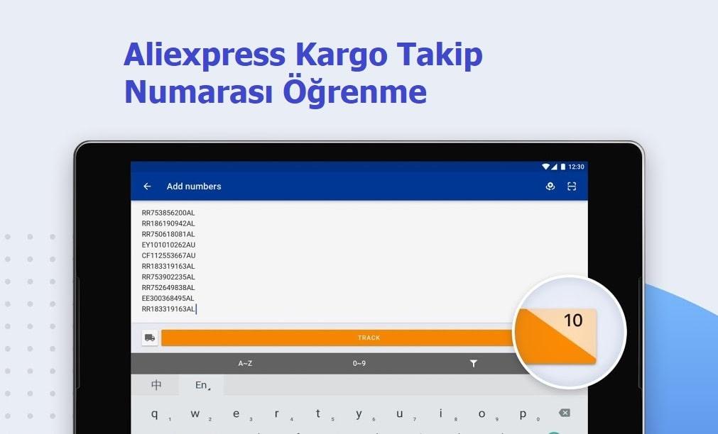 Aliexpress Kargo Takip Numarası Nerededir?
