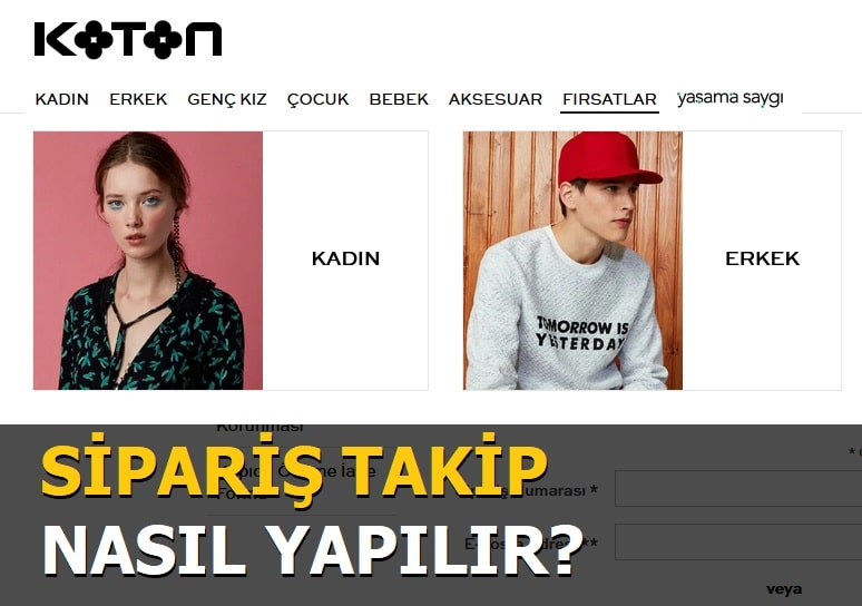 Koton Sipariş Takibi