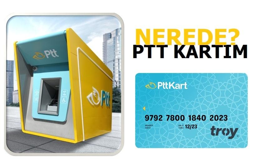 PTT Bank Kartı Kargo Takip