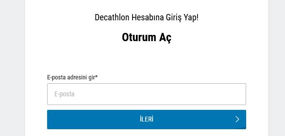 Decathlon Sipariş Takip